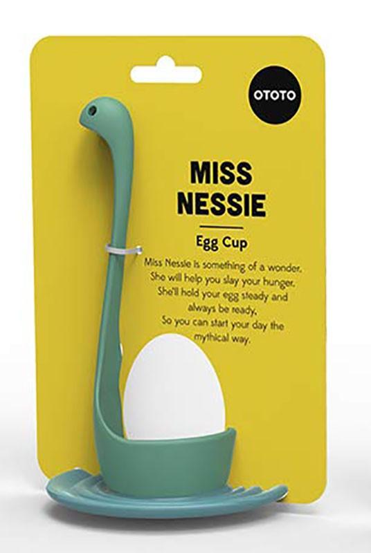 Тарелка для яиц Miss Nessie Turquoise фото