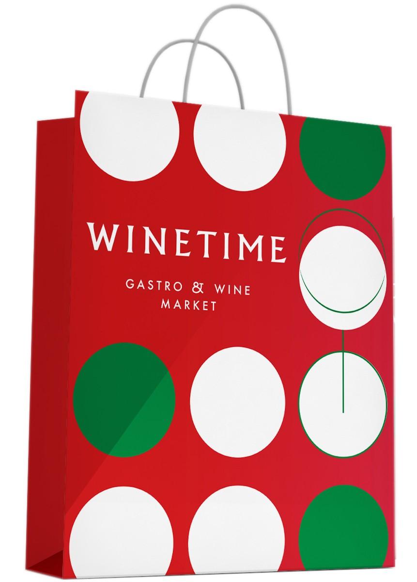 Пакет подарочный Wine Time Bubbletime фото