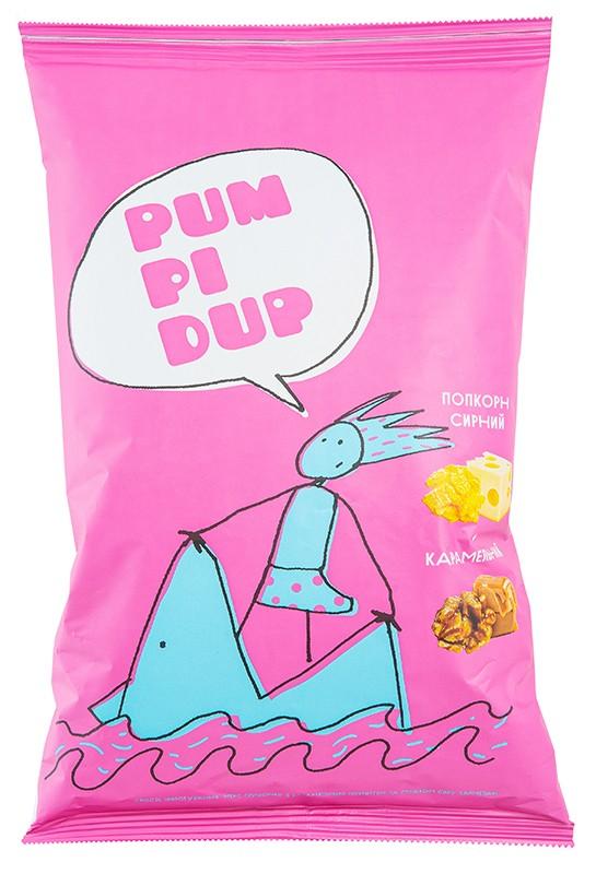Микс попкорна Pumpidup с карамельным покрытием и вкусом сыра пармезан фото
