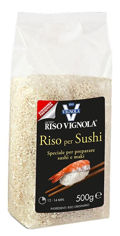 Рис Круглозернистый для приготовления суши RISO VIGNOLA фото