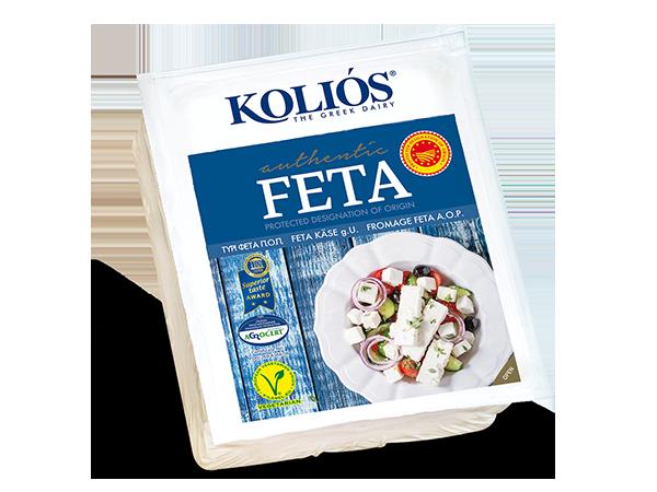 Сир Feta PDO Kolios (в вакуумній упаковці) фото