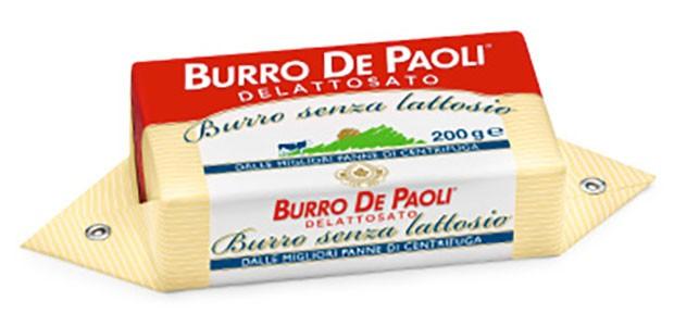 Масло сливочное без лактозы De Paoli фото