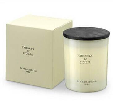 Арома свічка Cereria Molla Premium 230 gr. Verbena di Sicilia фото