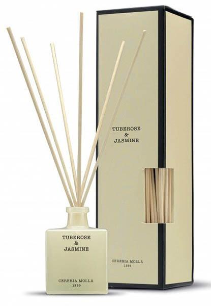 Дифузор Cereria Molla Premium 100 ml. Tuberose & Jasmine фото