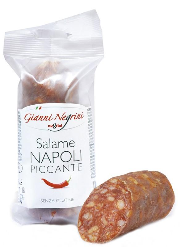 Ковбаса Salame Napoli Piccante NEGRINI фото