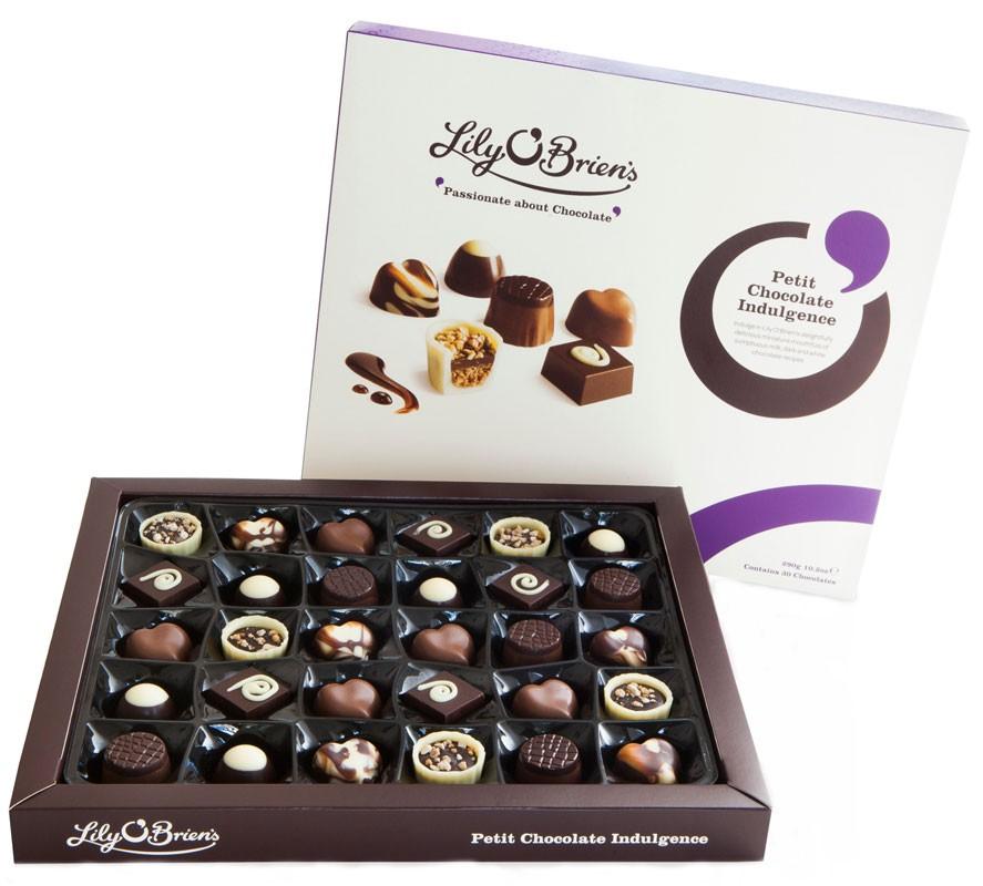 Цукерки шоколадні Petit Chocolate Indulgence Lily O'Brien's фото