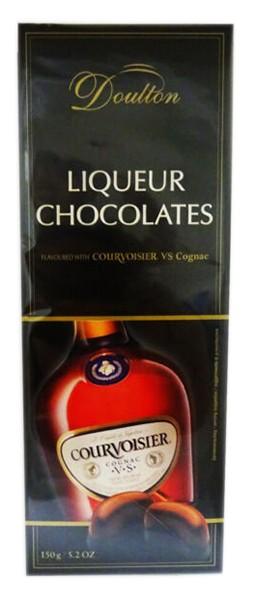 Конфеты шоколадные Doulton с коньяком Courvoisier фото