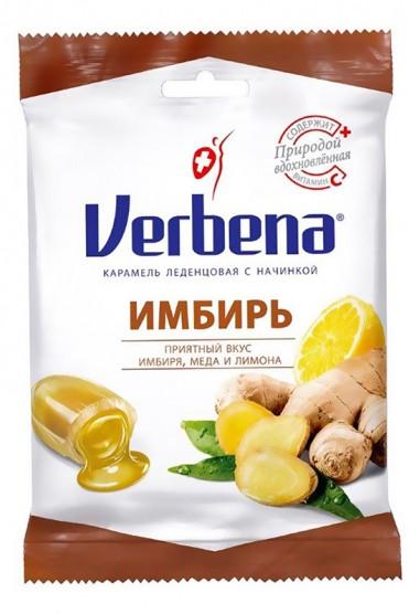 Леденцы Verbena Имбирь с витамином С фото