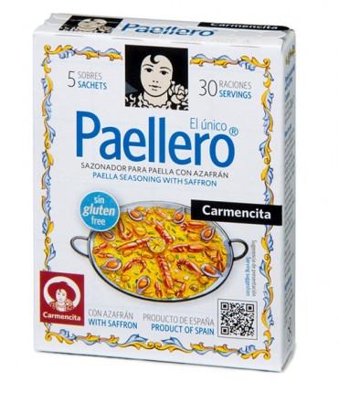 Традиційна суміш спецій для паельї Paellero Carmencita фото