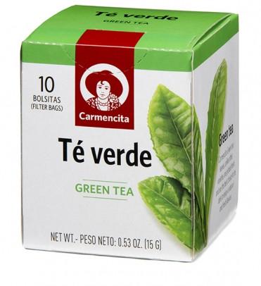 Чай зеленый Carmencita фото