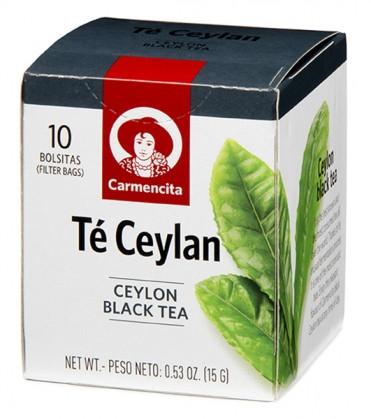 Чай черный цейлонский Carmencita фото