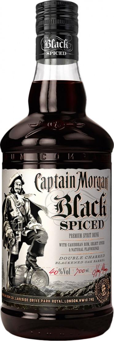 Captain Morgan Spiced Black фото