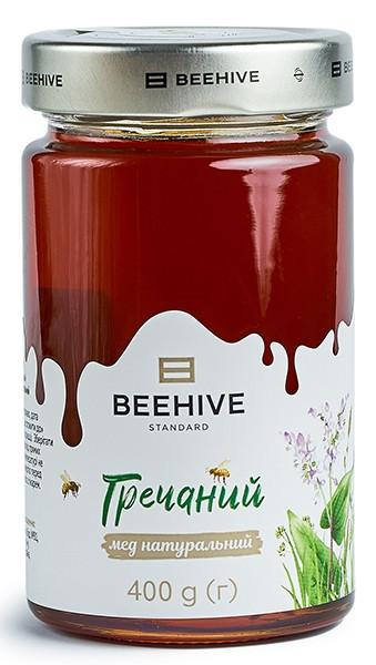 Мед натуральний Beehive Гречаний фото