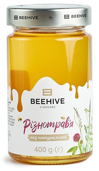 Мед натуральный Beehive собранный с разнотравья фото