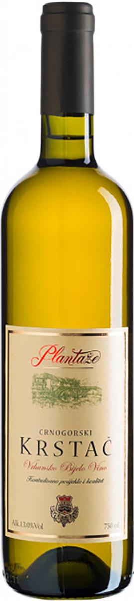 Вино Crnogorski Krstac біле сухе фото