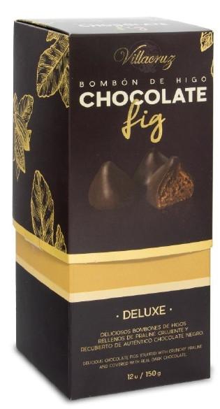 Інжир в шоколаді з хрустким праліне VillaCruz фото
