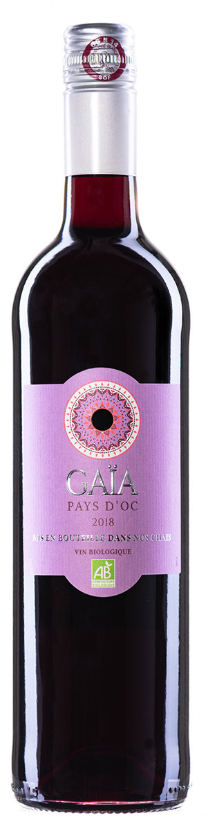 Вино Vignerons Catalans IGP Pays d'Oc Gaia Bio Rouge черв.сухе фото