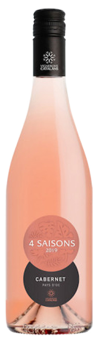 Вино Vignerons Catalans IGP Pays d'Oc 4 Saisons Cabernet Rose рож.сухе фото