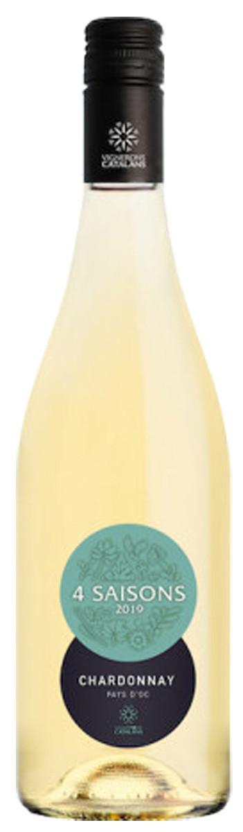 Vignerons Catalans Pays d'Oc 4 Saisons Chardonnay фото