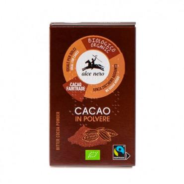Какао порошок без сахара Fairtrade Alce Nero Органический фото