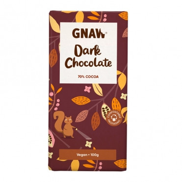Шоколад чорний 70% Gnaw фото