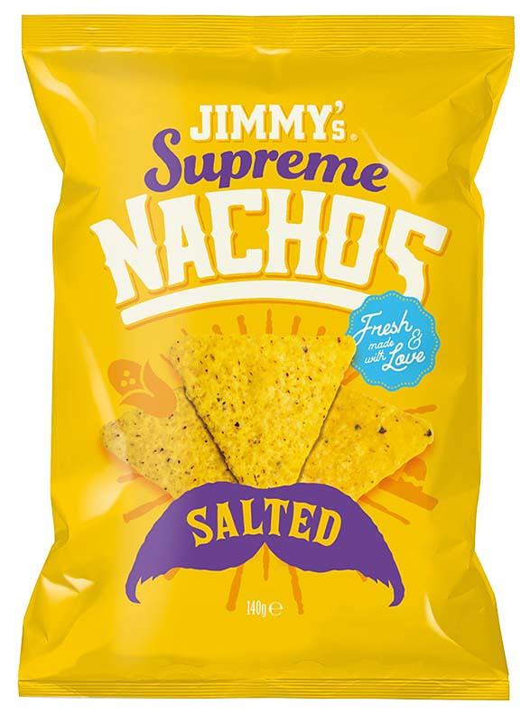 Чипсы  Начос кукурузные соленые Jimmy's Supreme фото
