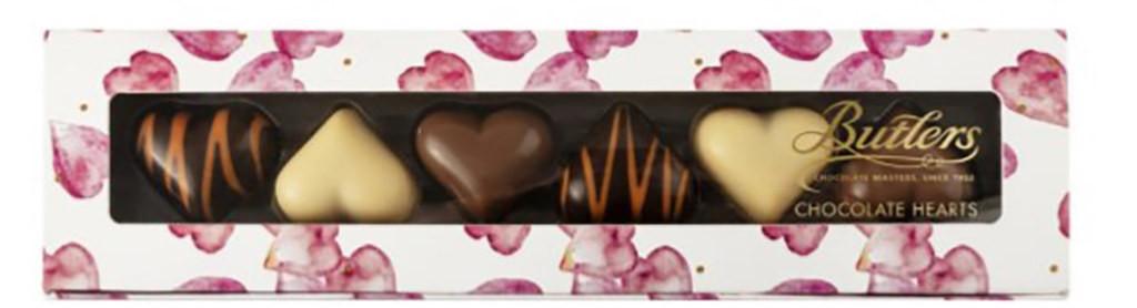 Шоколадные конфеты Chocolate Heart Butlers фото