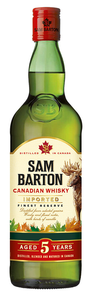 Sam Barton 5 Y.O Canadian Whisky фото