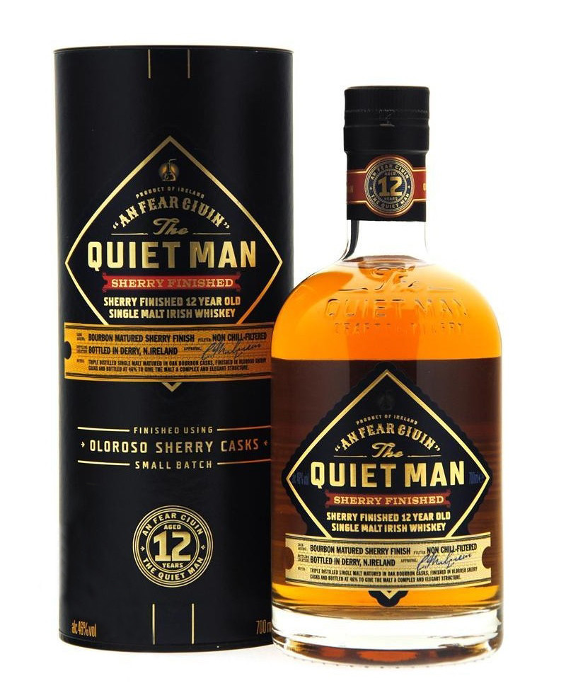 Luxco The Quiet Man 12 year old Sherry Finish фото