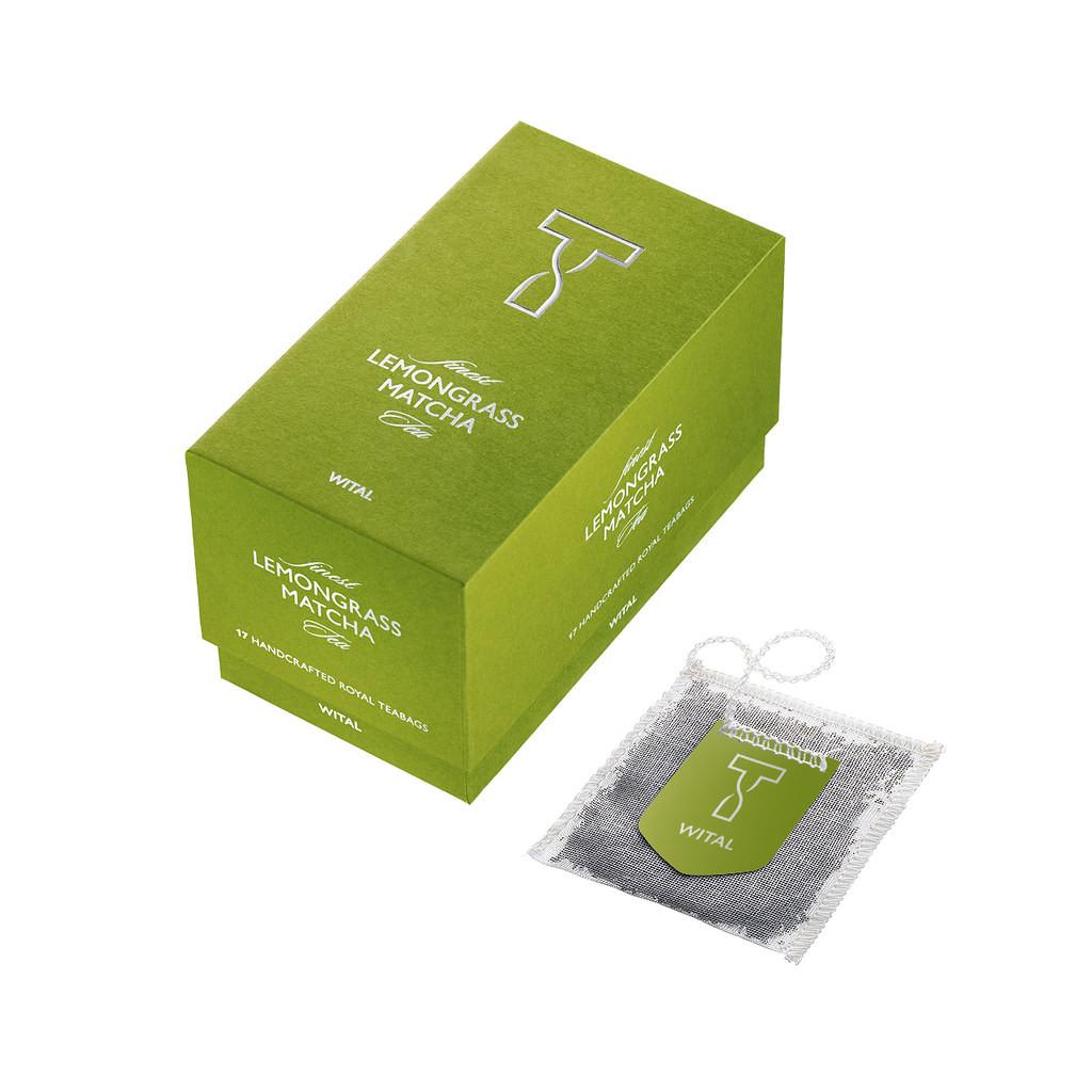 Чай Lemongrass Matcha Wital (в пакетиках) фото