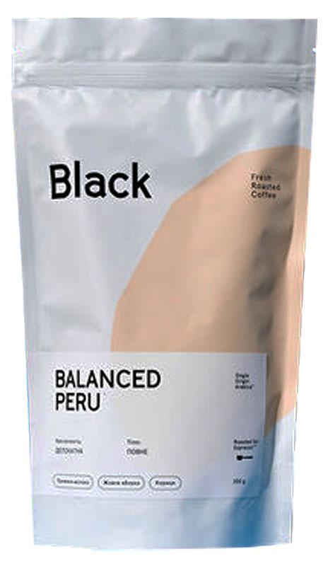 Кофе свежеобжаренный в зернах Перу Black Nuare фото