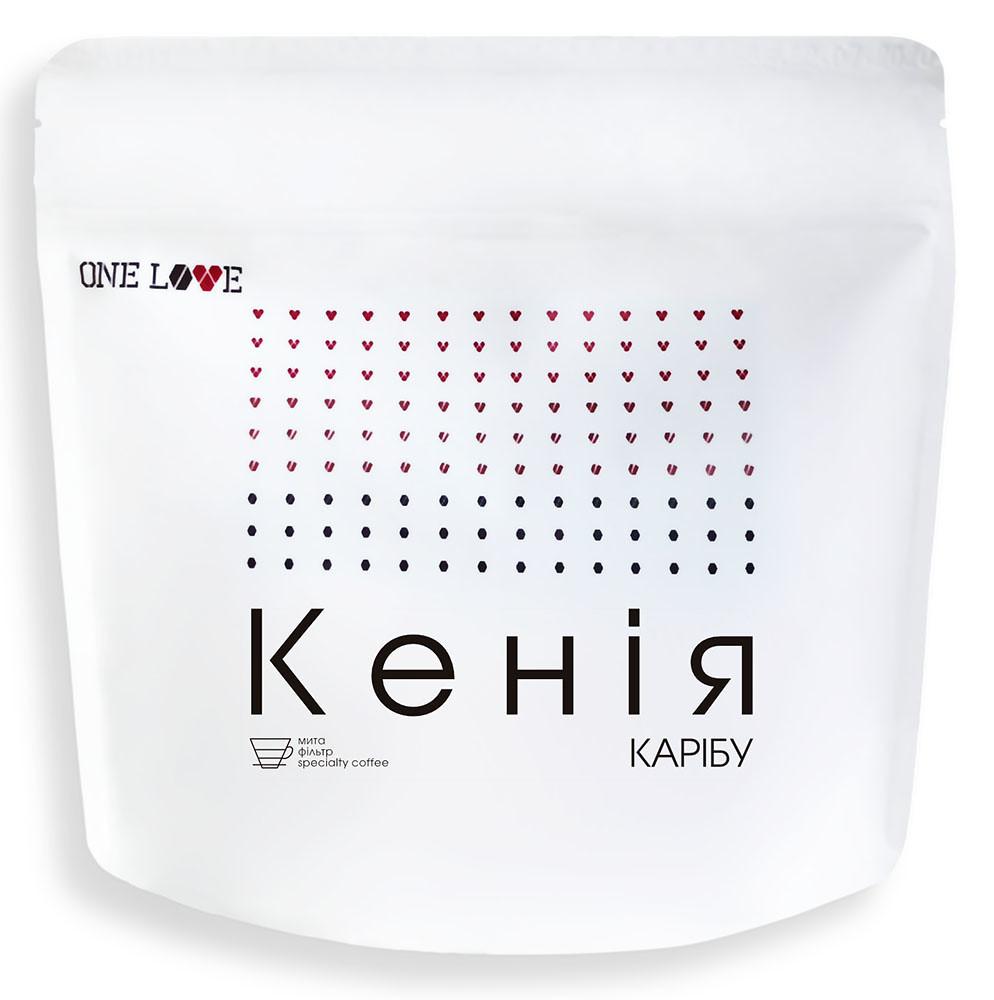 Кава свіжообсмажена Кенія Карібу АБ ONE LOVE фото
