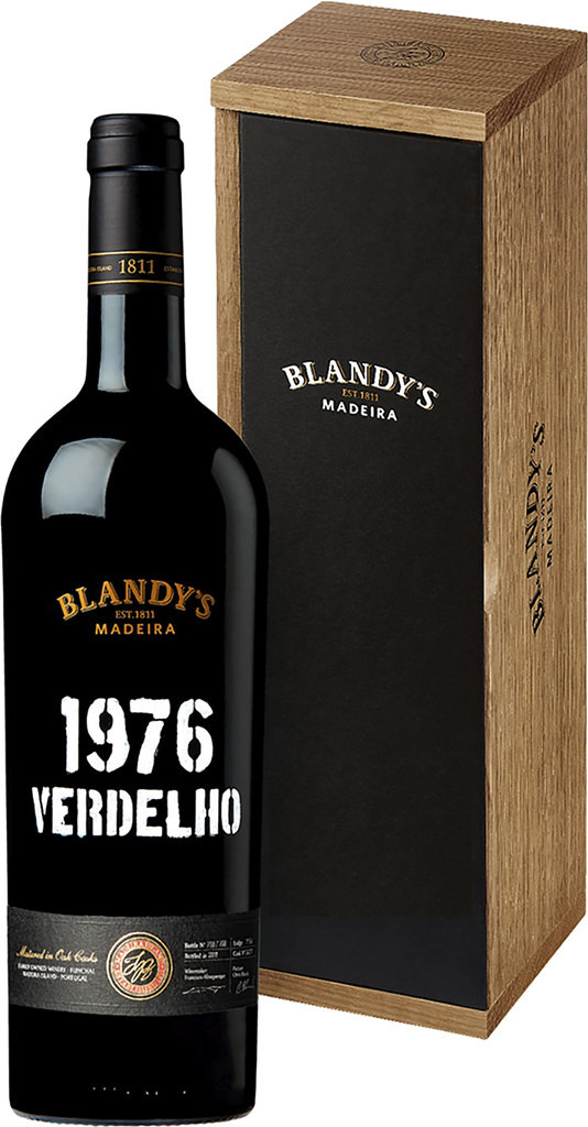 Blandy's Verdelho 1976 фото
