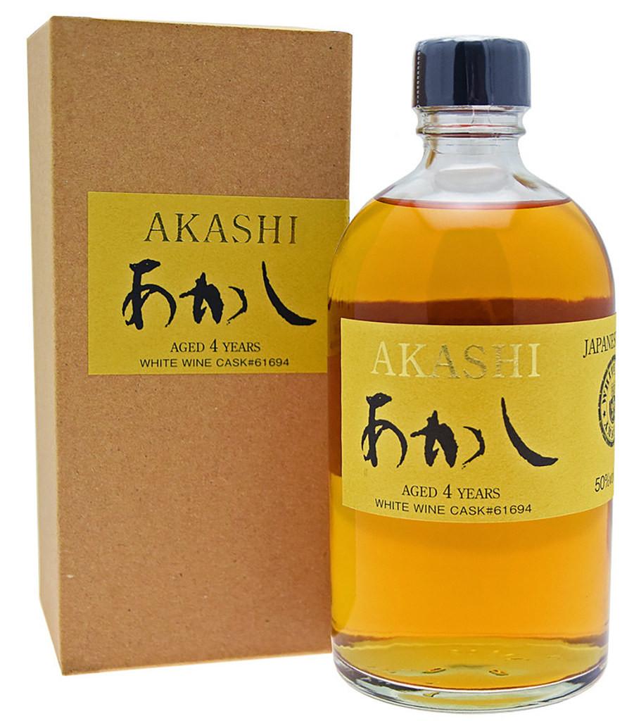 Akashi Single Malt 4 ans White Wine Cask фото