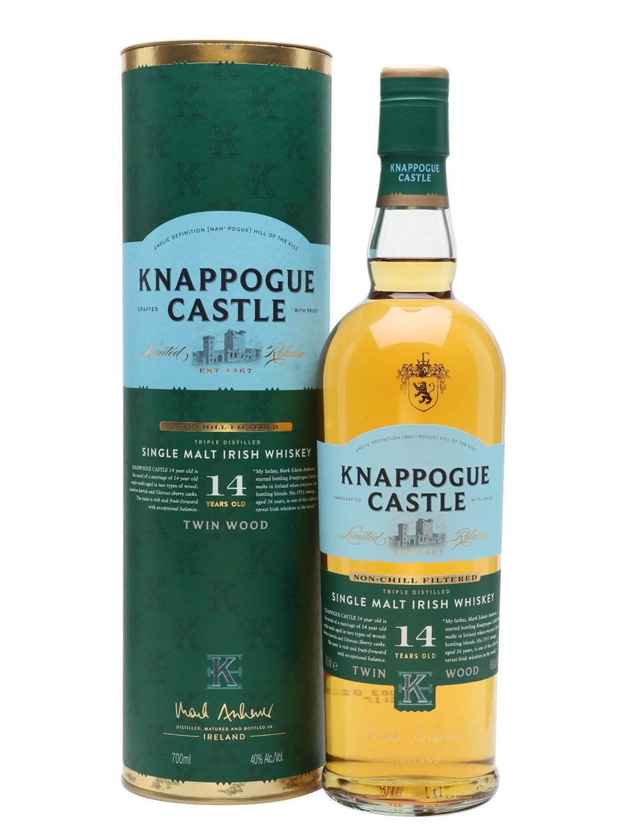 Castle Brands Knappogue 14 Y.O фото