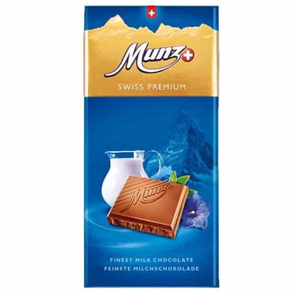 Молочный шоколад Munz фото