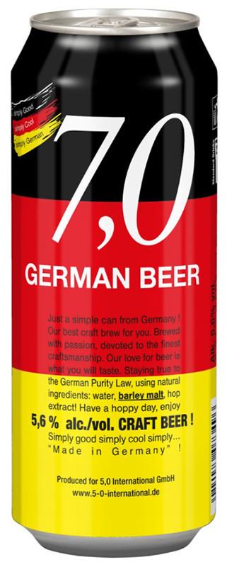 7,0 German Beer Craft нефильтрованное фото