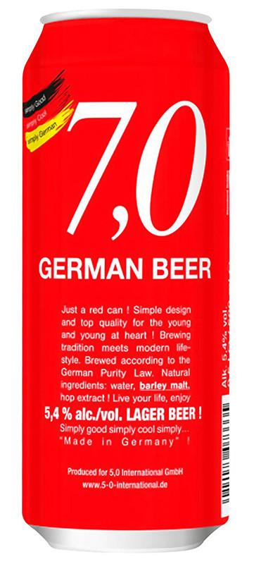 7,0 German Beer Lager фото