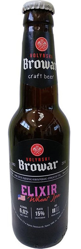 Волынский Бровар Elixir нефильтрованное фото