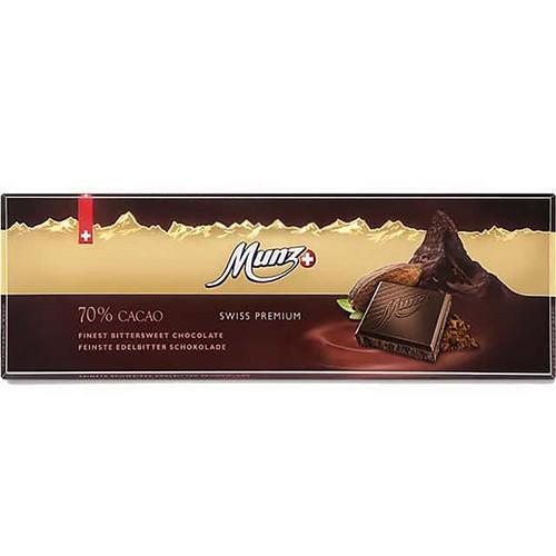 Чорний шоколад 70% Munz фото