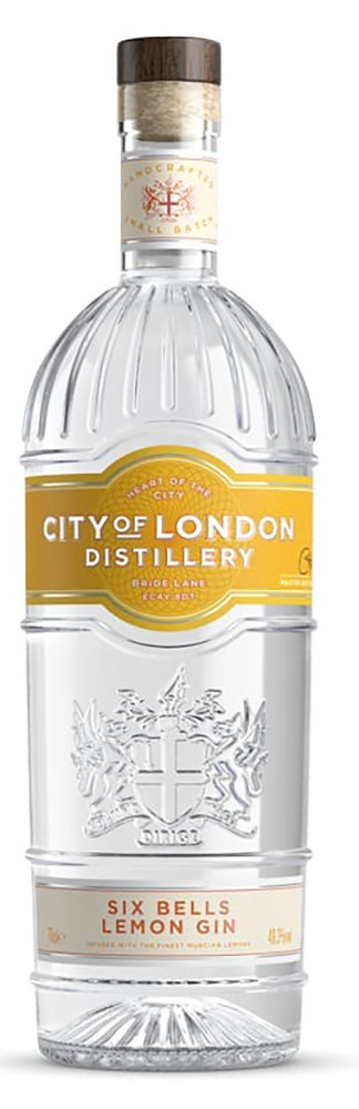 Джин City of London Distillery Lemon Six Bells Gin фото