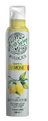 Оливкова олія - спрей екстра вірджин органічна з ароматом лимона Vivo Spray фото