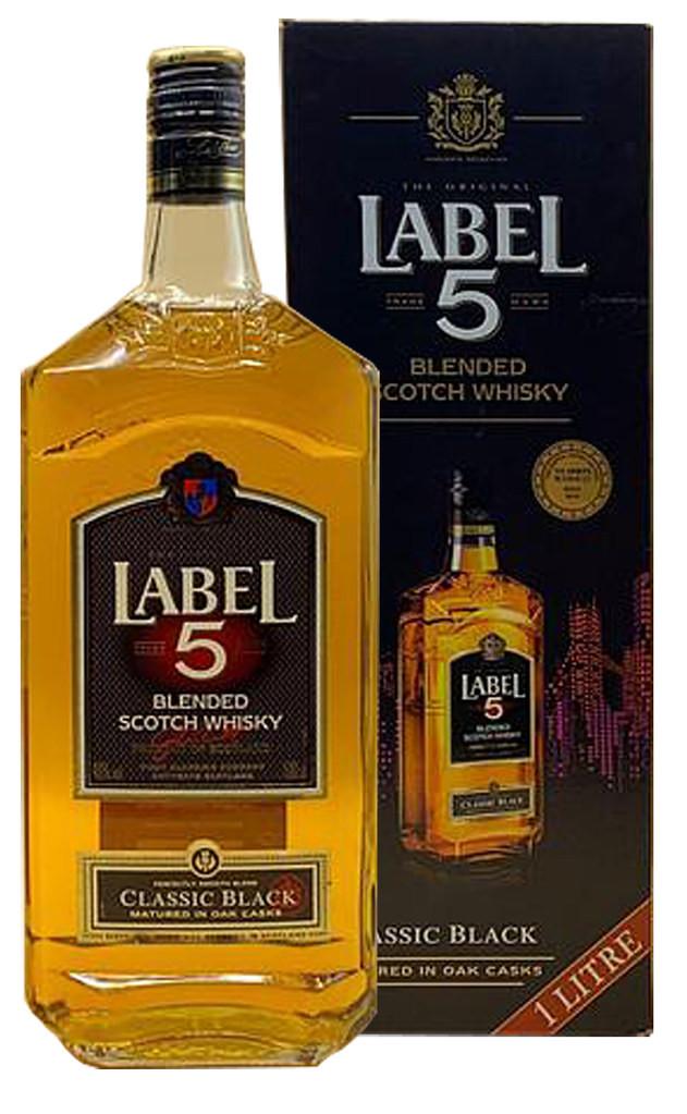 Label 5 Classic Black фото