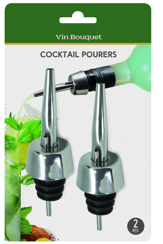 Гейзер для пляшки металевий Vin Bouquet фото