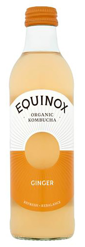 Комбуча с имбирем Equinox фото