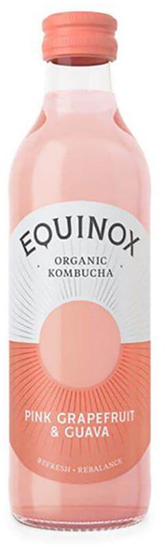 Комбуча с розовым грейпфрутом и гуавой  Equino фото