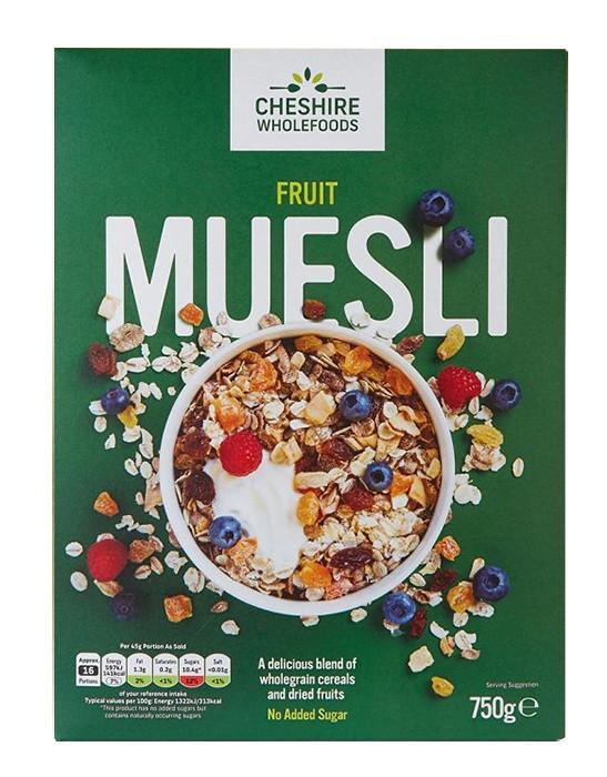 Мюсли с фруктами Cheshire Wholefoods фото