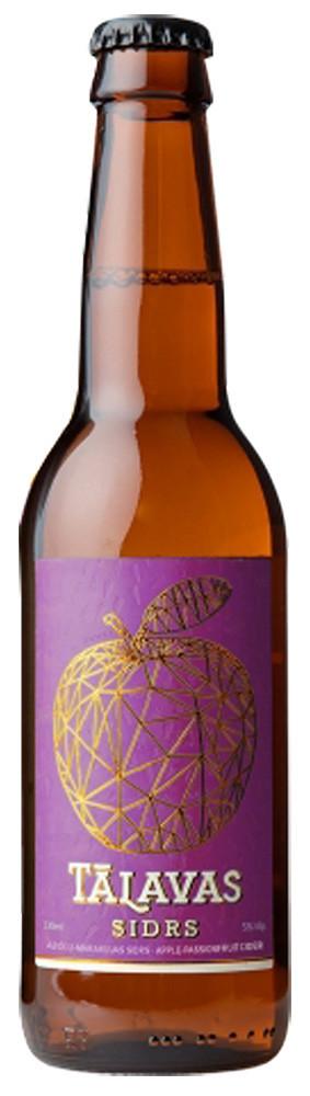 Talavas Sidrs Apple Cider Sweet with Passion Fruit фото