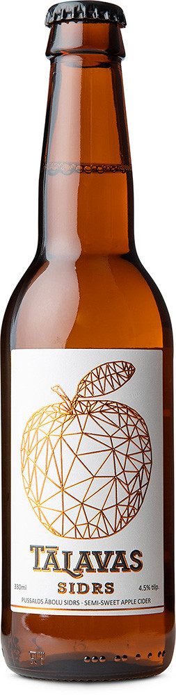 Talavas Sidrs Apple Cider Semisweet with Cherry & Rubarb фото