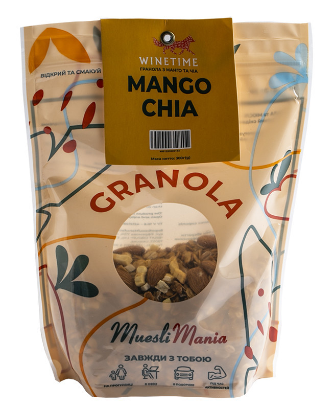 Гранола из манго Mango-Chia Granola WINETIME фото
